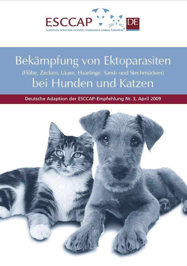 ESCCAP-Empfehlung Ektoparasiten, Stand: April 2021