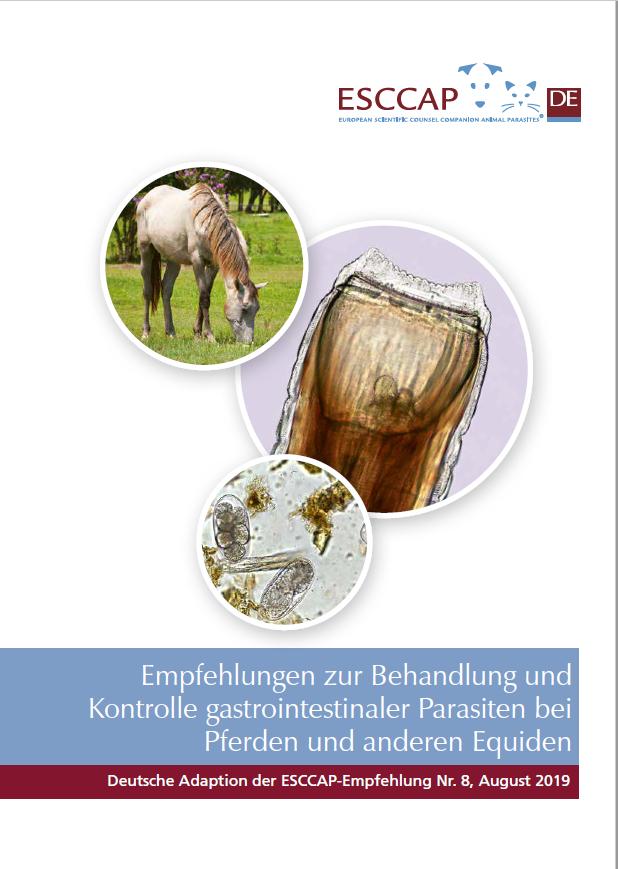 ESCCAP Deutschland Pferde-Empfehlung, Stand: April 2021