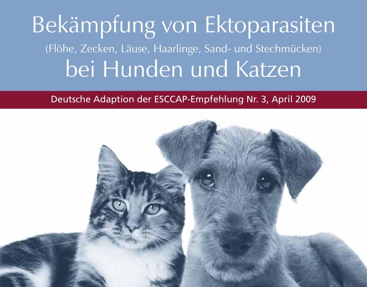 Abbildung zur ESCCAP-Empfehlung zur Bekämpfung von Ektoparasiten