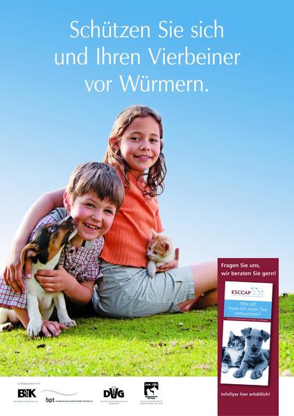ESCCAP Plakat zur Entwurmung