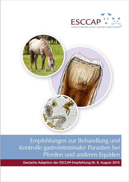 Abbildung zur Empfehlung zu gastrointestinalen Parasiten beim Pferd