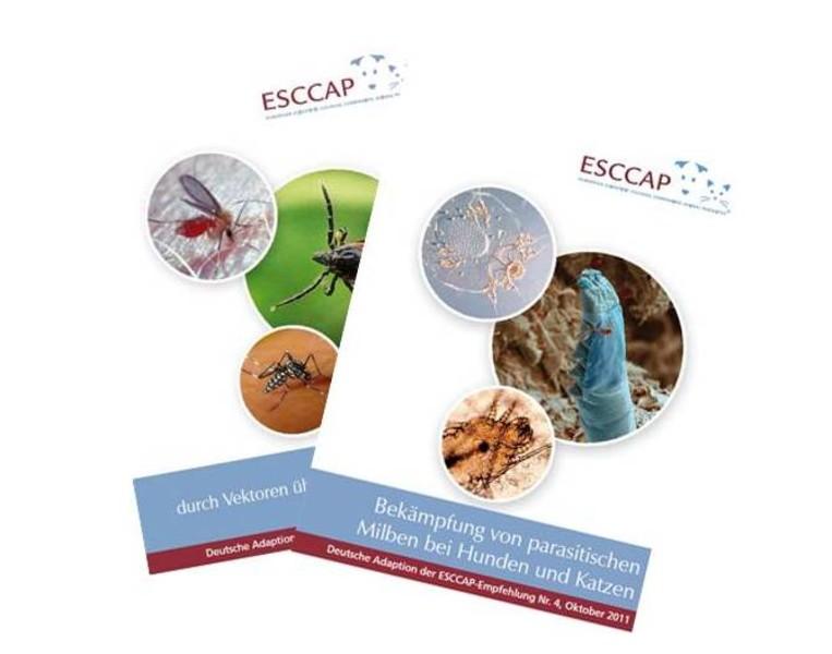 Abbildung zur ESCCAP-Empfehlungen Vektoren und Milben